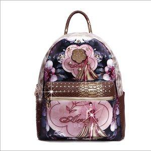 Brangio Graphic Design Vintage Handmade Backpack